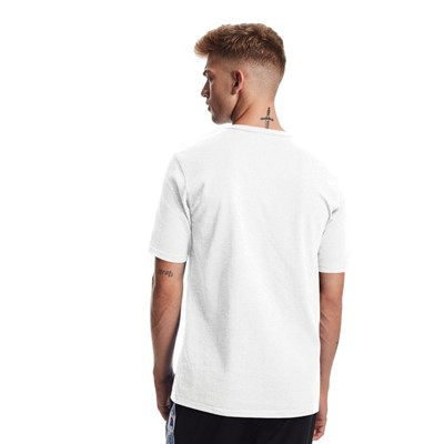 Alternate view of Mens Champion Heritage Tee - White