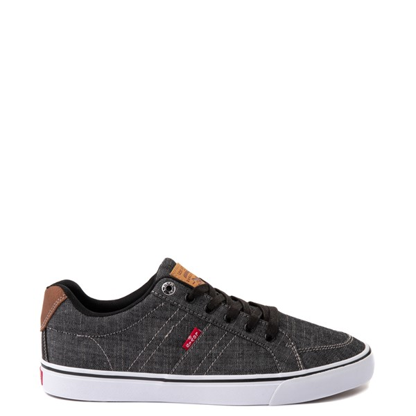 Mens Levi's Turner Chambray Casual Shoe - Black