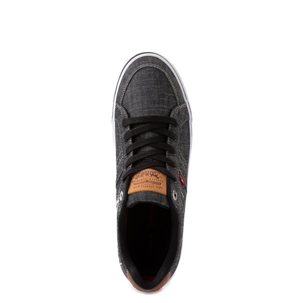 alternate image alternate view Mens Levi's Turner Chambray Casual Shoe - BlackALT2