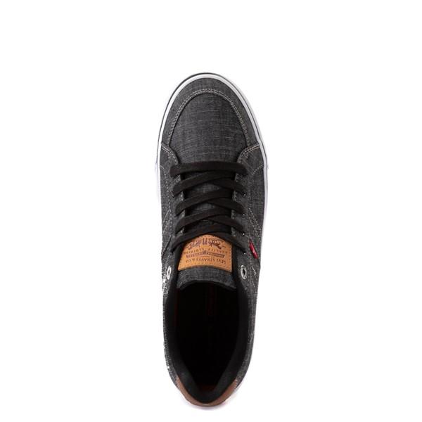 alternate image alternate view Mens Levi's Turner Chambray Casual Shoe - BlackALT4B