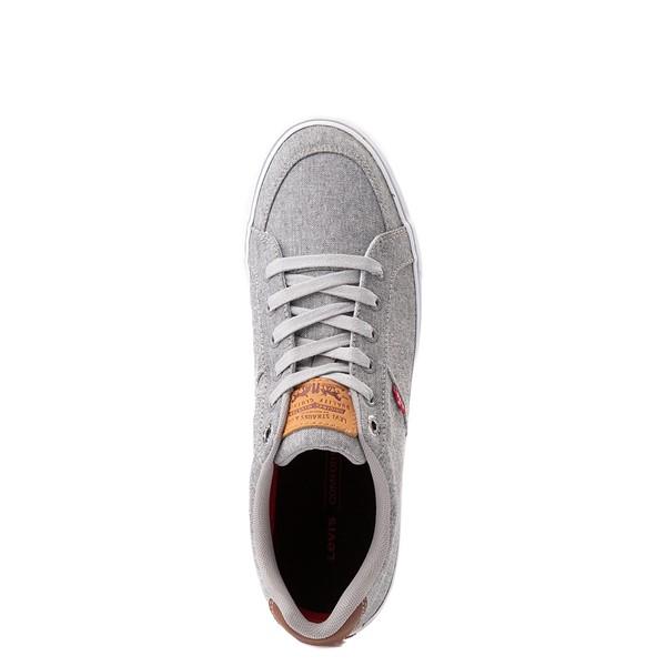 alternate image alternate view Mens Levi's Turner Chambray Casual Shoe - GreyALT4B