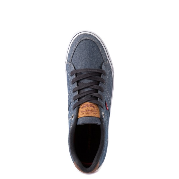alternate image alternate view Mens Levi's Turner Chambray Casual Shoe - NavyALT4B