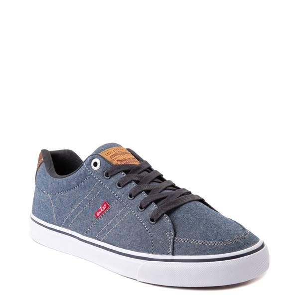 alternate image alternate view Mens Levi's Turner Chambray Casual Shoe - NavyALT5