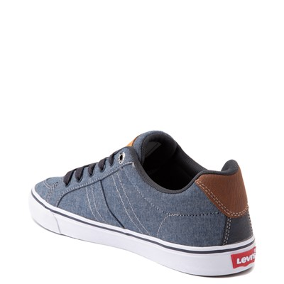 Alternate view of Mens Levi's Turner Chambray Casual Shoe - Navy