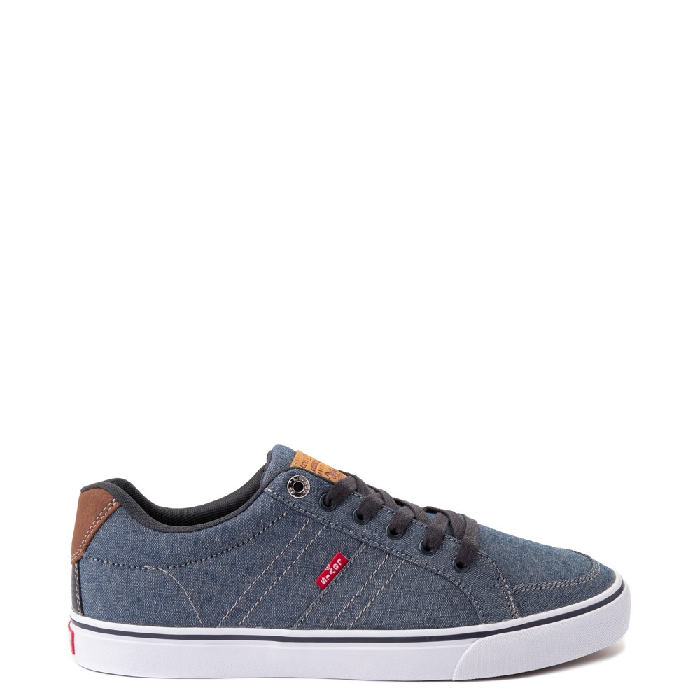 Mens Levi's Turner Chambray Casual Shoe - Navy