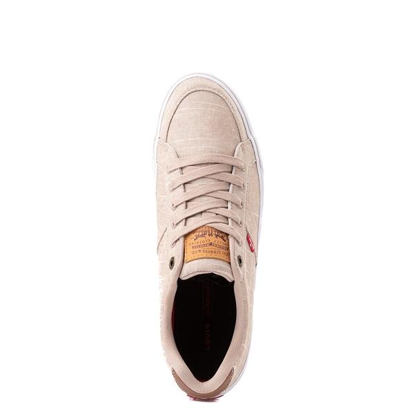 alternate image alternate view Mens Levi's Turner Chambray Casual Shoe - KhakiALT2