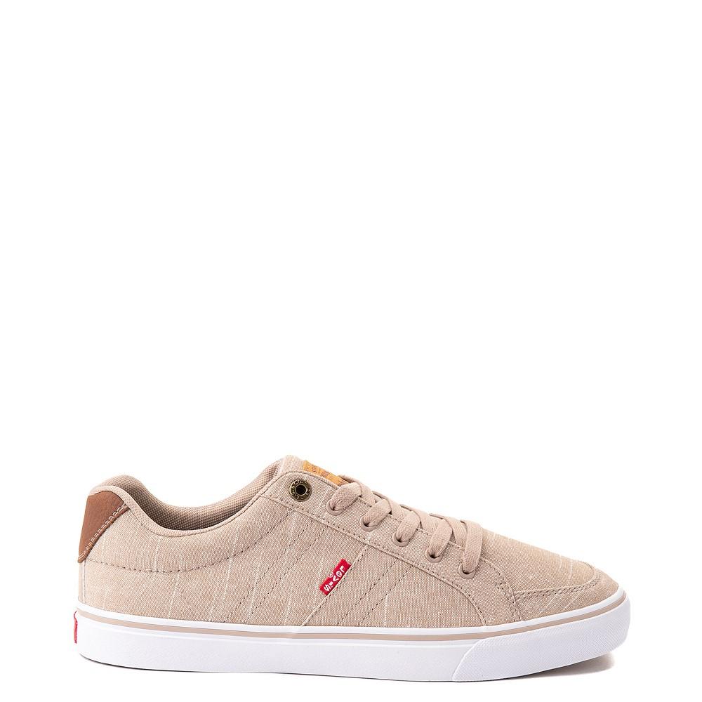 Mens Levi's Turner Chambray Casual Shoe - Khaki