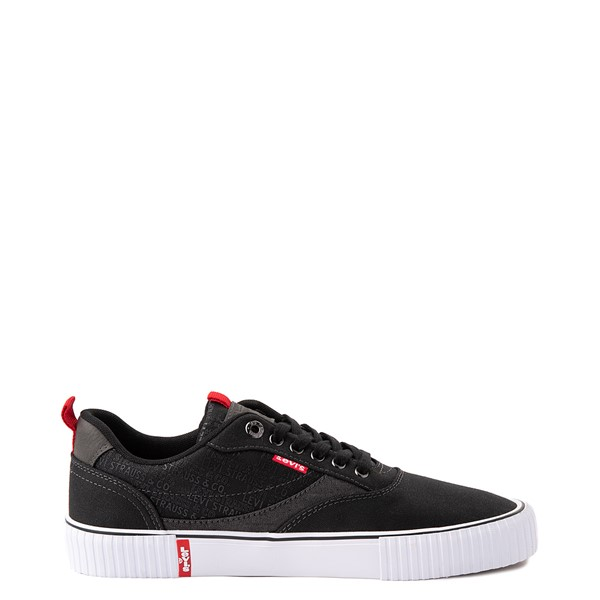 Main view of Mens Levi's Lance Casual Shoe - Black