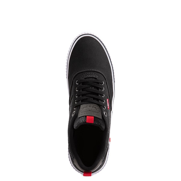 alternate image alternate view Mens Levi's Lance Casual Shoe - BlackALT2