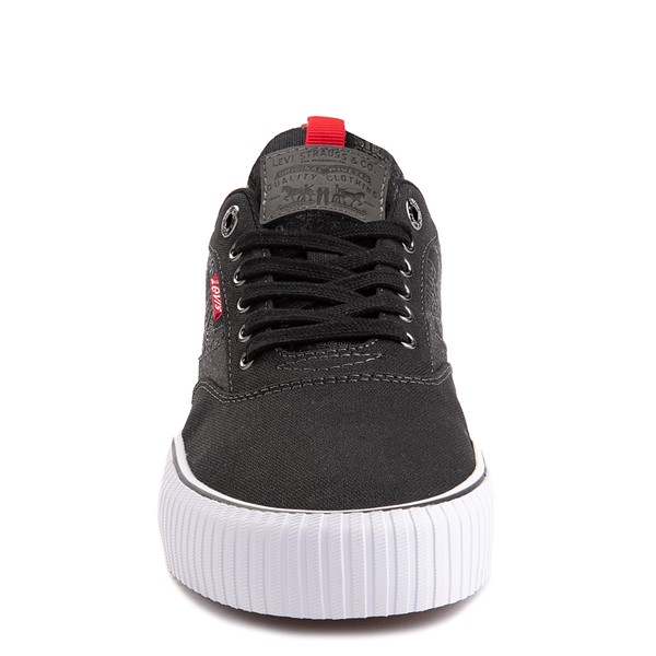 alternate image alternate view Mens Levi's Lance Casual Shoe - BlackALT4