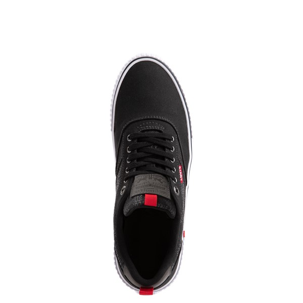 alternate image alternate view Mens Levi's Lance Casual Shoe - BlackALT4B