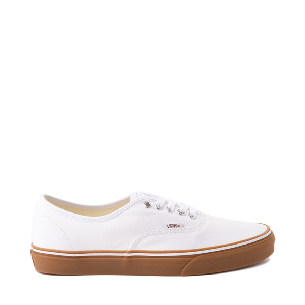 Main view of Vans Authentic Skate Shoe - White / Gum