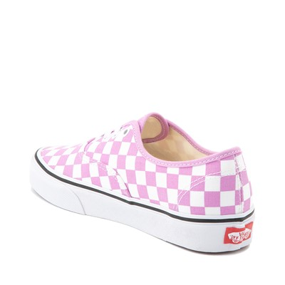 Alternate view of Vans Authentic Checkerboard Skate Shoe - Orchid