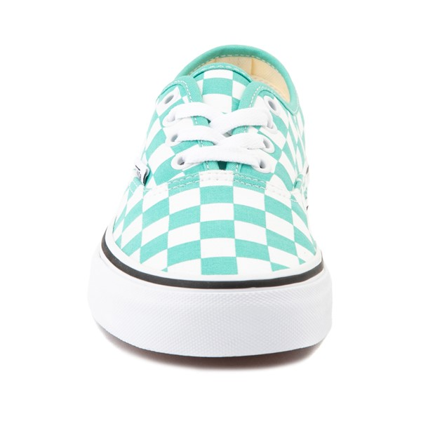 alternate image alternate view Vans Authentic Checkerboard Skate Shoe - WaterfallALT4