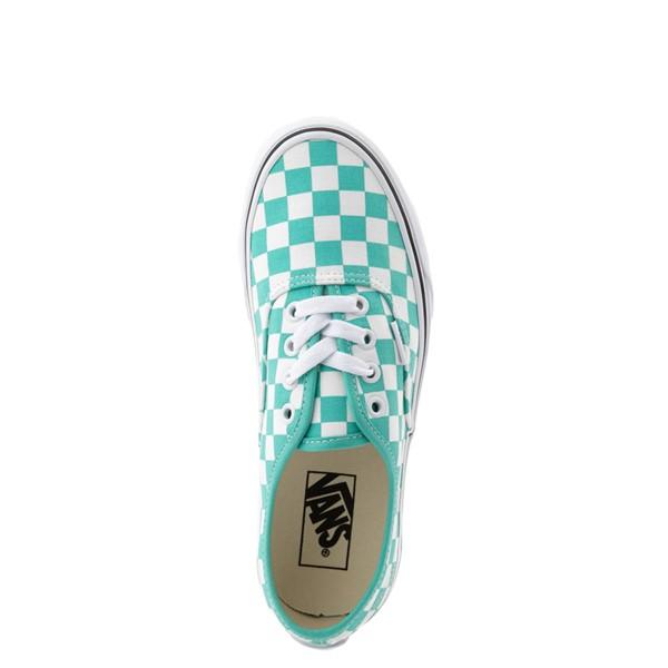 alternate image alternate view Vans Authentic Checkerboard Skate Shoe - WaterfallALT4B