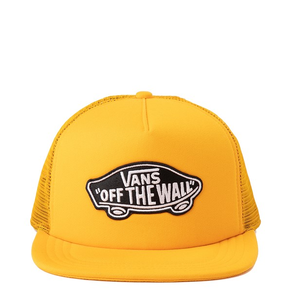 Main view of Vans Classic Patch Trucker Hat - Saffron