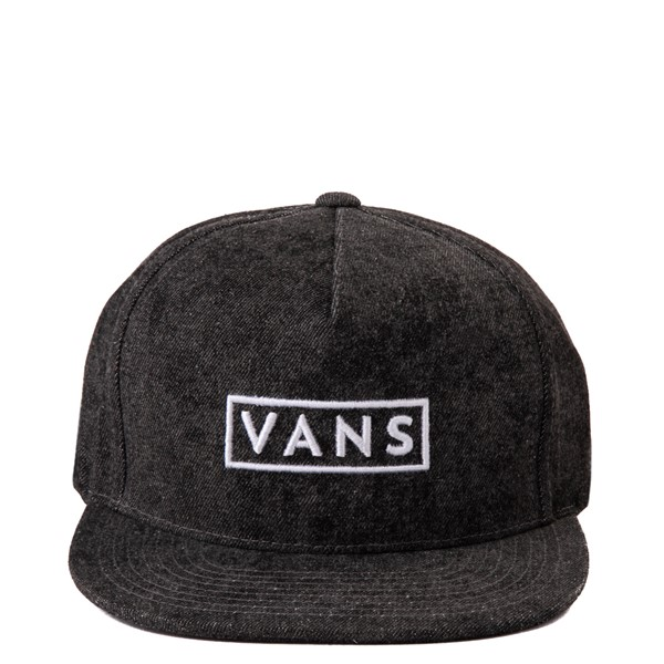 Main view of Vans Easy Box Snapback Hat - Washed Grey