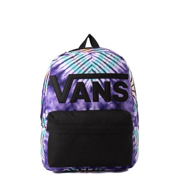 Main view of Vans Old Skool Tie Dye Backpack - Purple
