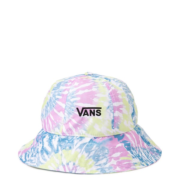 Main view of Vans Far Out Bucket Hat - Orchid Tie Dye