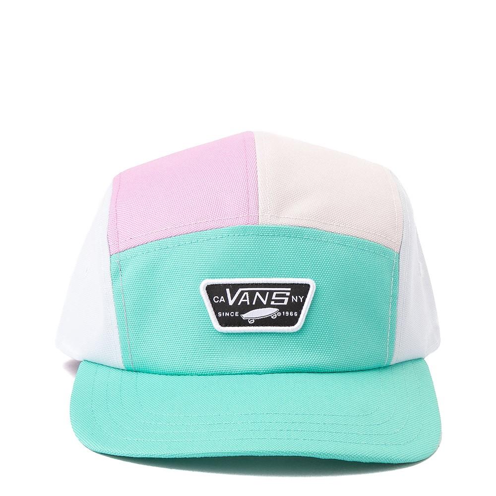 Vans Checkwork 5-Panel Camper Hat - Pastel Multicolor