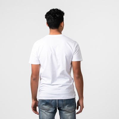 Alternate view of Mens Vans Off The Wall Crew Tee - White