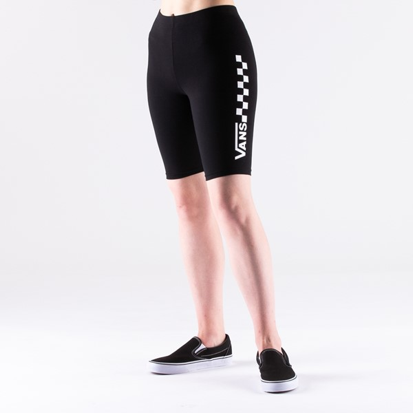 Womens Vans Chalkboard Bike Shorts - Black