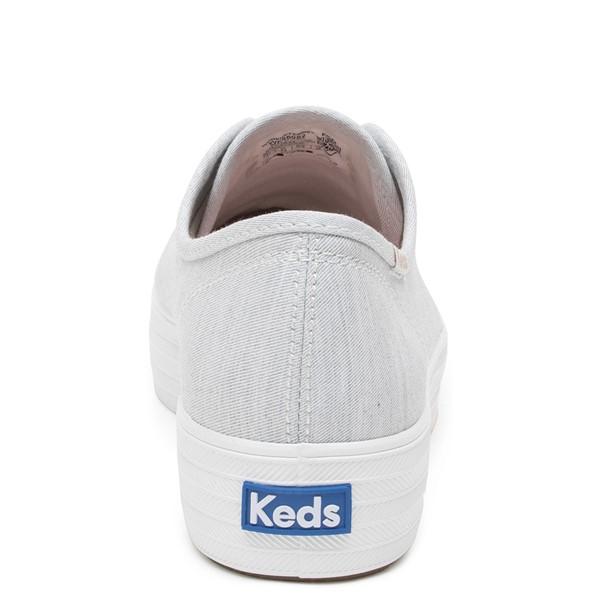 alternate image alternate view Womens Keds Triple Kick Platform Casual Shoe - Light GreyALT4