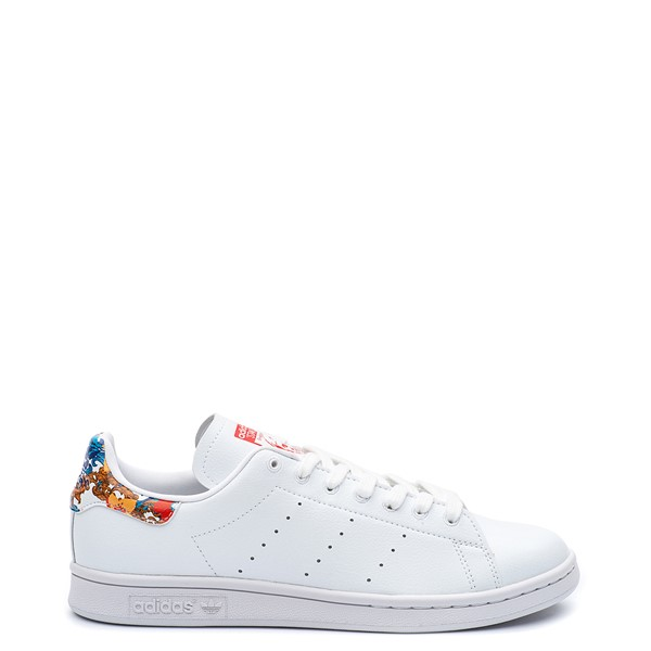 Main view of Womens adidas x Her Studio Stan Smith Athletic Shoe - Cloud White / Floral