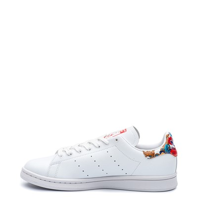 Alternate view of Womens adidas x Her Studio Stan Smith Athletic Shoe - Cloud White / Floral