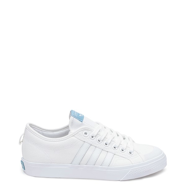 Main view of Mens adidas Nizza Platform Athletic Shoe - White