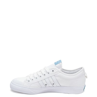 Alternate view of Mens adidas Nizza Platform Athletic Shoe - White