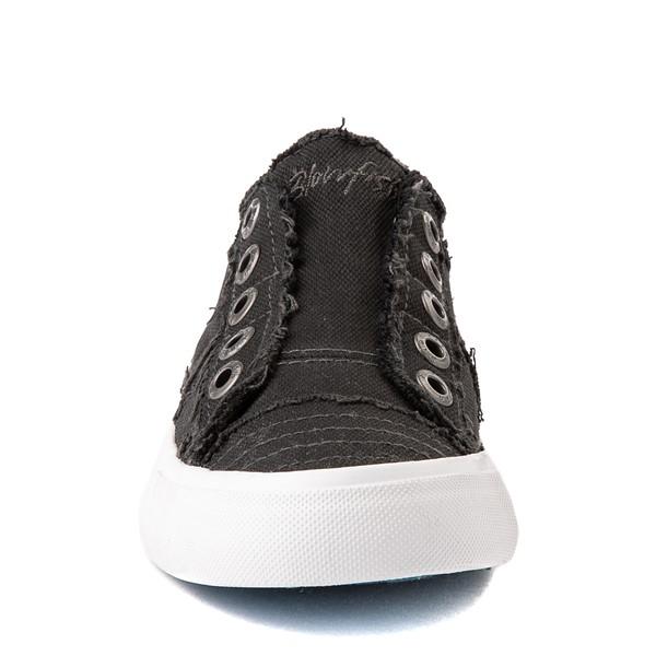 alternate image alternate view Womens Blowfish Play Slip On Casual Shoe - Black SmokeALT4