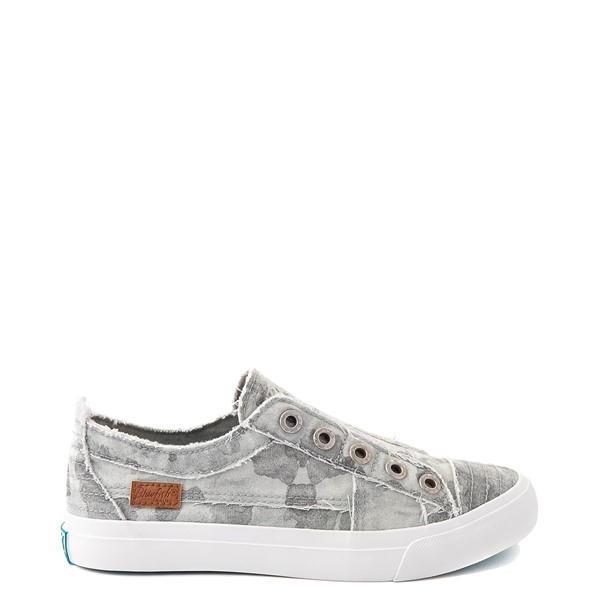 Womens Blowfish Play Slip On Casual Shoe - Gray Splatter Camo