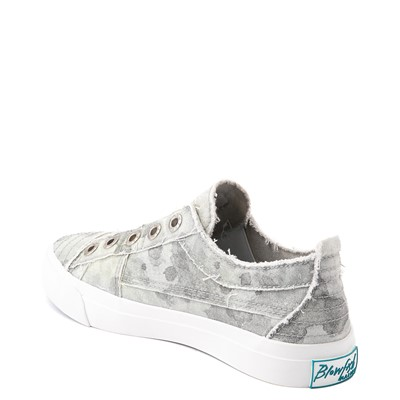 Alternate view of Womens Blowfish Play Slip On Casual Shoe - Gray Splatter Camo