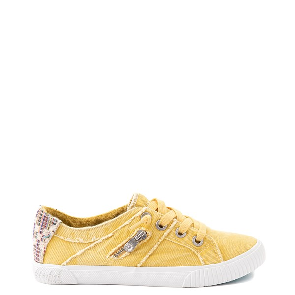 Main view of Womens Blowfish Fruit Slip On Casual Shoe - Sunrise Yellow