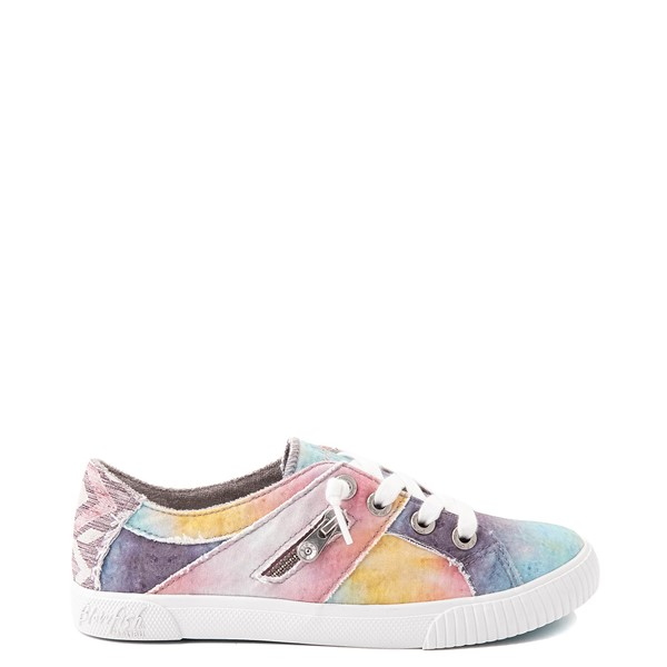 Main view of Womens Blowfish Fruit Slip On Casual Shoe - Desert Sky Tie Dye