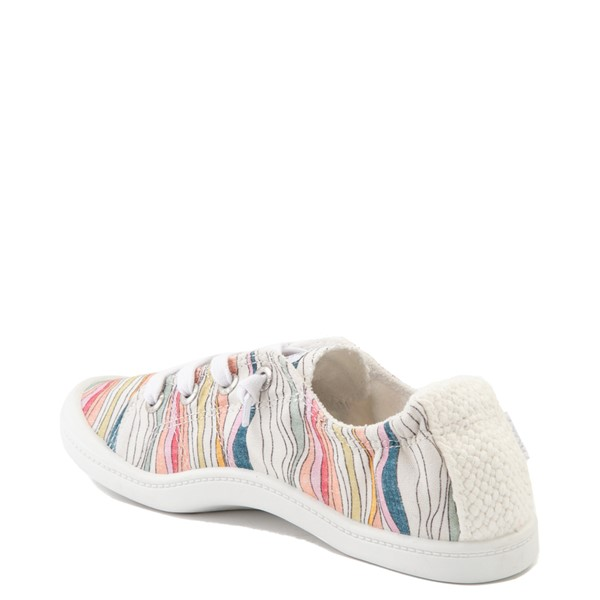 alternate image alternate view Womens Roxy Bayshore Casual Shoe - BattlestripeALT1