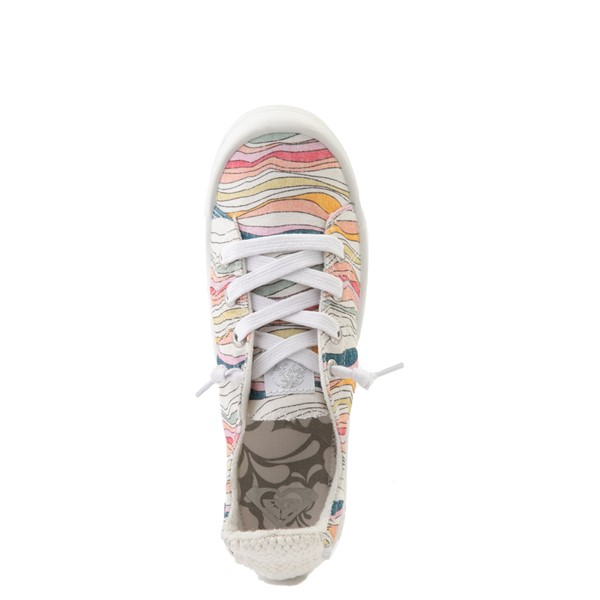 alternate image alternate view Womens Roxy Bayshore Casual Shoe - BattlestripeALT2