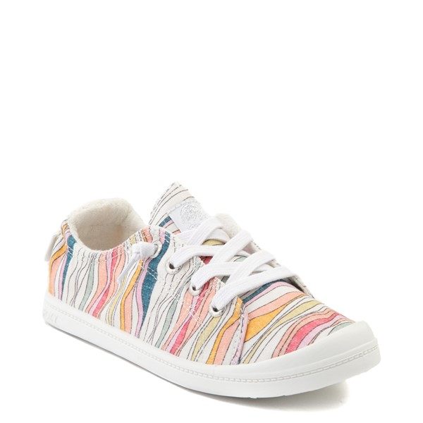 alternate image alternate view Womens Roxy Bayshore Casual Shoe - BattlestripeALT5