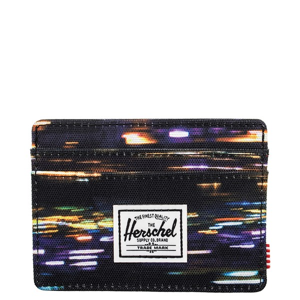 Main view of Herschel Supply Co. Charlie Wallet - Black / Night Light