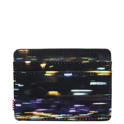 Alternate view of Herschel Supply Co. Charlie Wallet - Black / Night Light