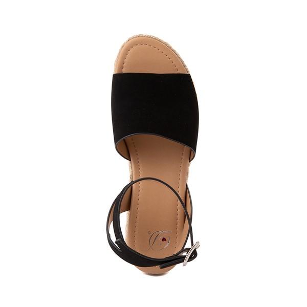 alternate image alternate view Womens Heart in D Topic-S Sandal - BlackALT2