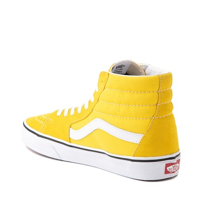 Alternate view of Vans Sk8 Hi Skate Shoe - Cyber Yellow