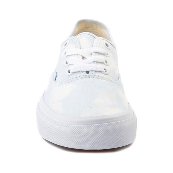 alternate image alternate view Vans Authentic Bleach Wash Skate Shoe - Ballad BlueALT4