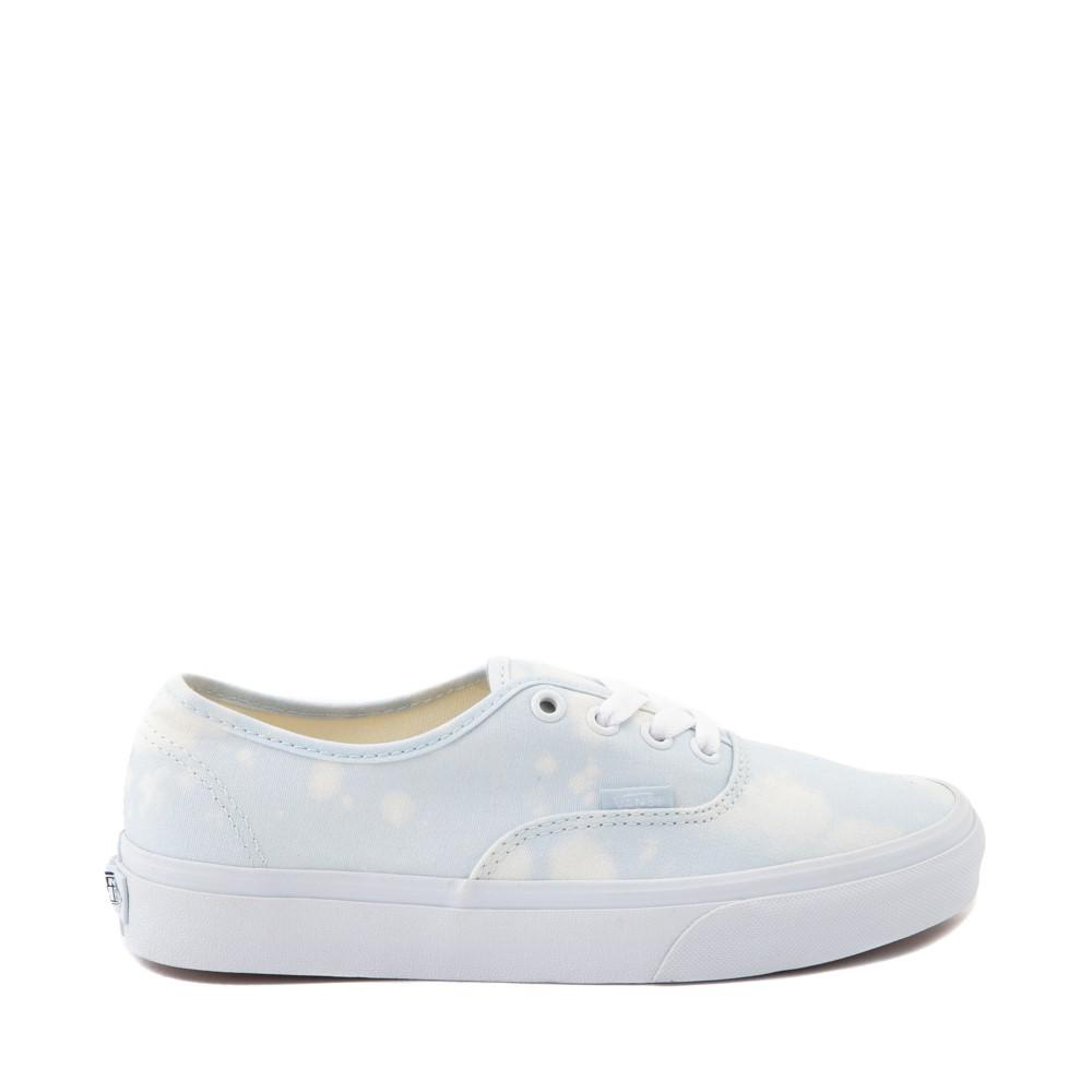 Vans Authentic Bleach Wash Skate Shoe - Ballad Blue
