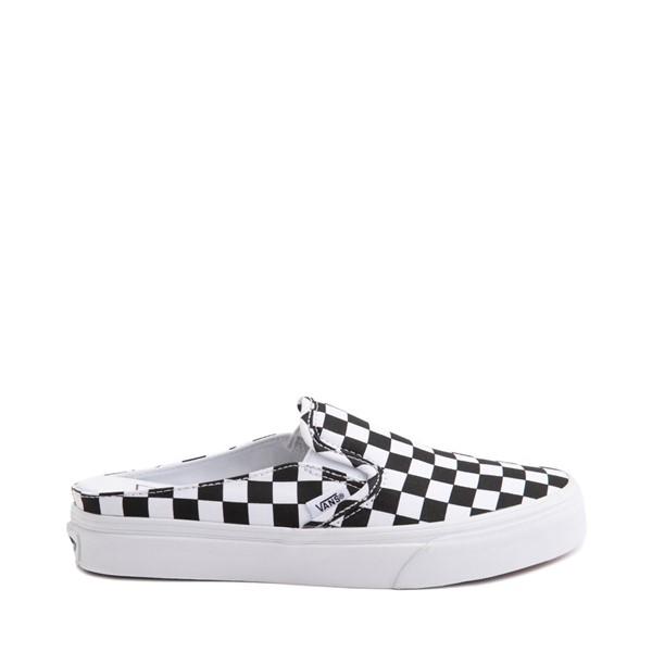 Main view of Vans Slip On Checkerboard Mule - White / Black