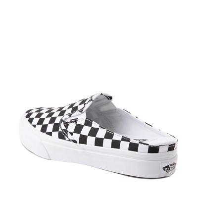 Alternate view of Vans Slip On Checkerboard Mule - White / Black