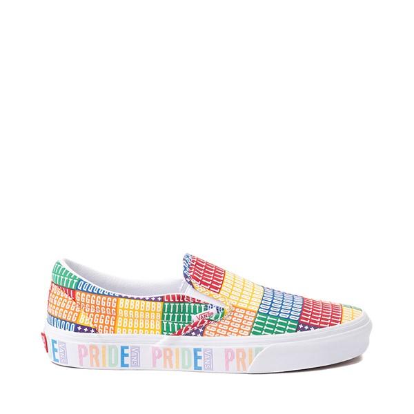 Main view of Vans Slip On Pride Skate Shoe - Multicolor