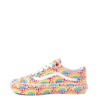 Alternate view of Vans Old Skool Pride Platform Skate Shoe - Rainbow