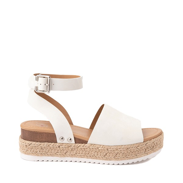 Womens Heart in D Topic-S Sandal - White